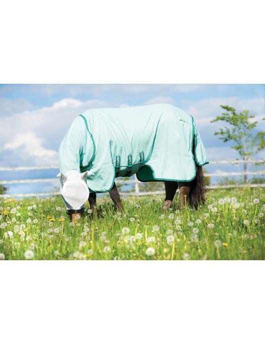 Horseware Rambo Hoody Ekzemerdecke Ice Green/Green