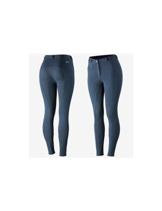 attraktive Designs klassisch am besten verkaufen Horze Reithose Active Silikon Damen Grip blau