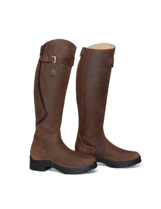 Mountain Horse Stiefel Snowy River RR brown