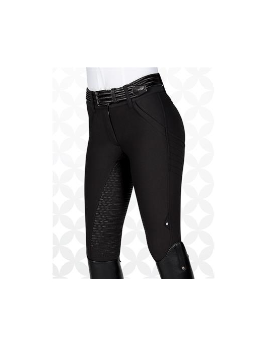Equiline Damenreithose X-Shape Full Grip black