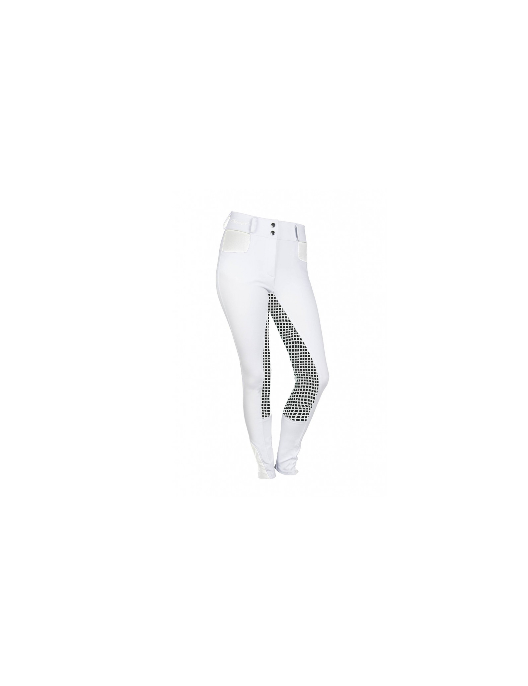 HKM Reitleggings Kids Starlight weiß