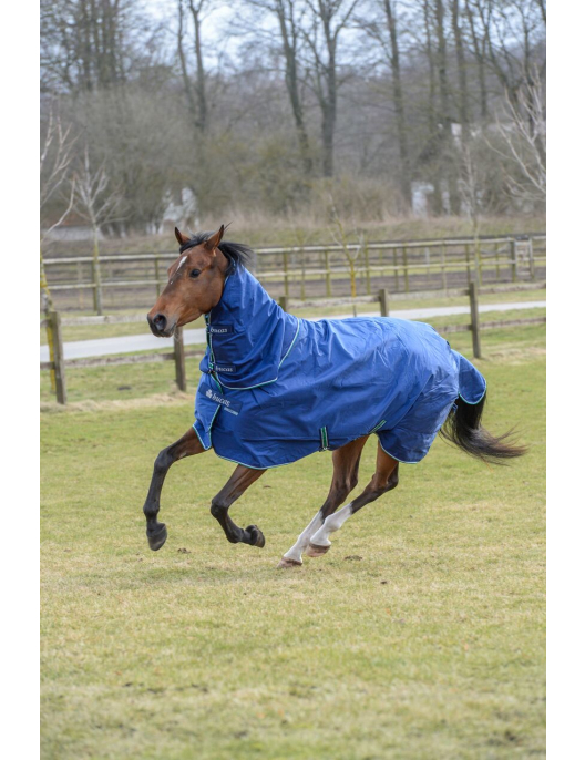 Bucas Smartex Rain big Neck blau