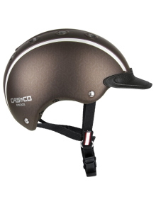 Casco Reithelm Choice braun metallic