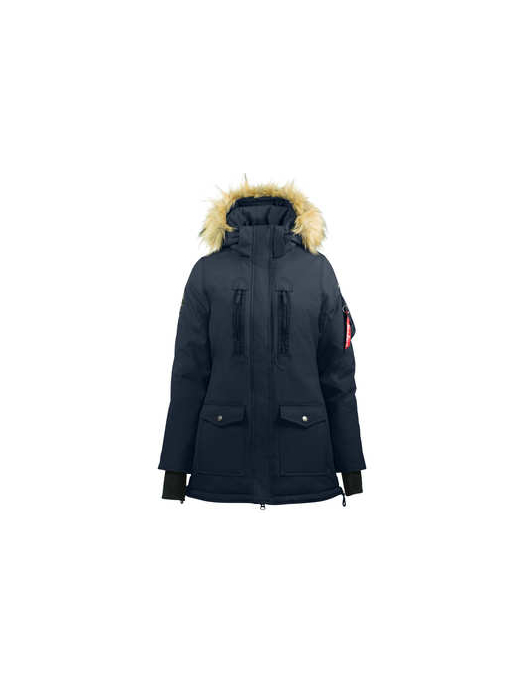 Horze Brooke Womens Parka dark navy