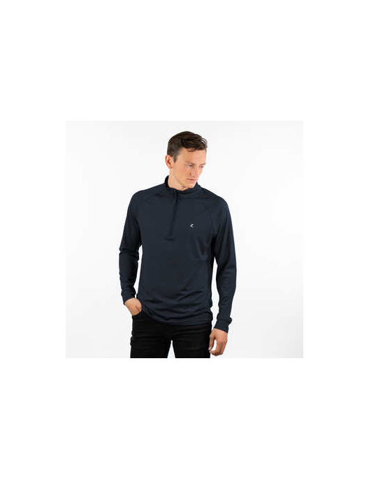 Horze Andie Mens Technical Shirt dunkelblau