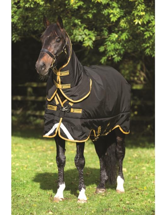 Horseware Decke Rambo Supreme Turnout 0g black/gold