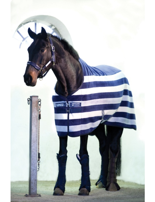Horseware Rambo Deluxe Fleece Whitney navy