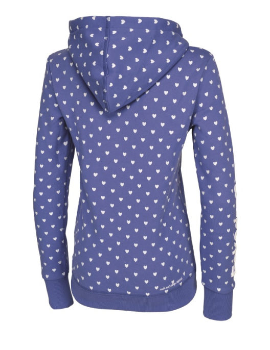 Eskadron Hoodie Women Bella Lightblue Hearts