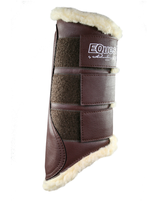 Equest Tendon Boots mocca/nature