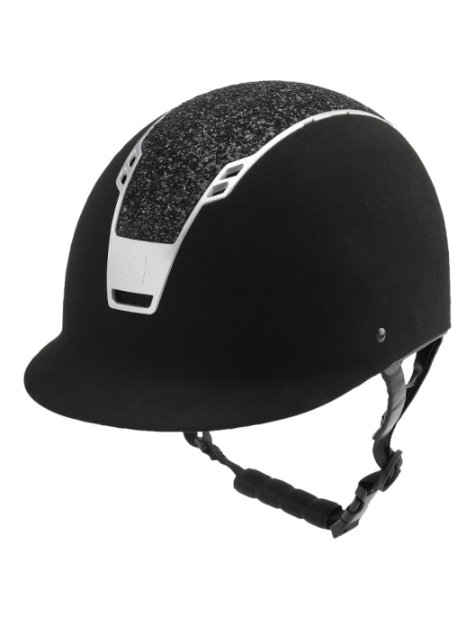 Equipage Priority Helm big Glitter black