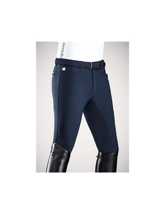 Equiline Mens Full Grip Breeches Walnut