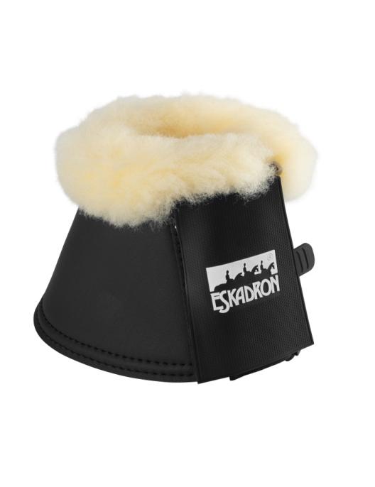 Eskadron Bell Boots Lambskin Synthetic Leather black