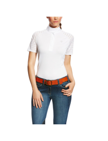 Ariat Women Vent Tek Show Shirt weiß