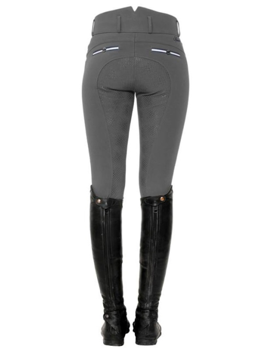 Spooks Reithose Ricarda Full Grip High Waist stone