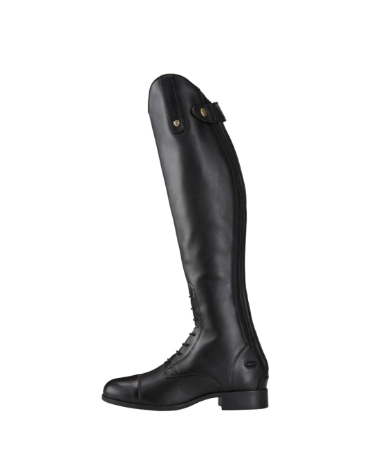 Ariat Riding Boots Womens Heritage Contour II Field Zip black