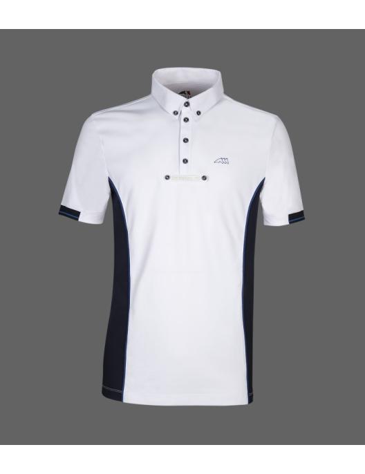 Equiline Herren Turniershirt Gym white