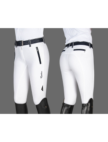 Equiline Breeches Women Angy Full- Grip white