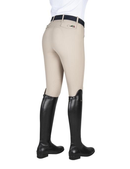 Equiline Breeches Women Franzi Knee Grip beige