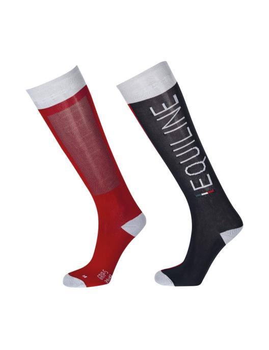 Equiline Unisex Socken Ibert royalblau