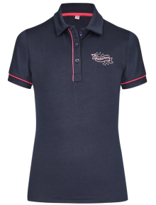 Busse Polo-Shirt KIDS COLLECTION VII navy(Flower)