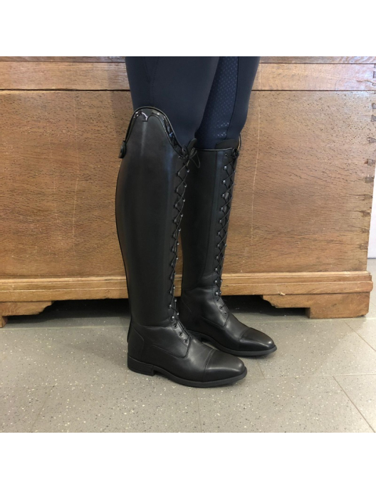 Euroriding Riding Boots Pamplona with Polo-Laces black