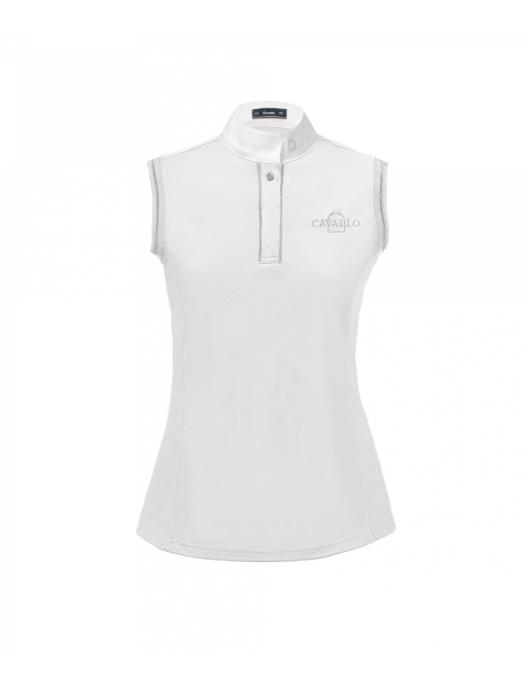 Cavallo Malea Damen Turniershirt weiß