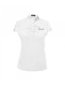Cavallo Melli Slim Damen Turniershirt Slim Fit weiß