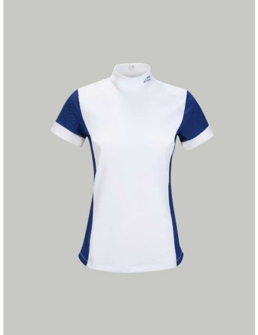 Equiline Women Competition Shirt Heather royal