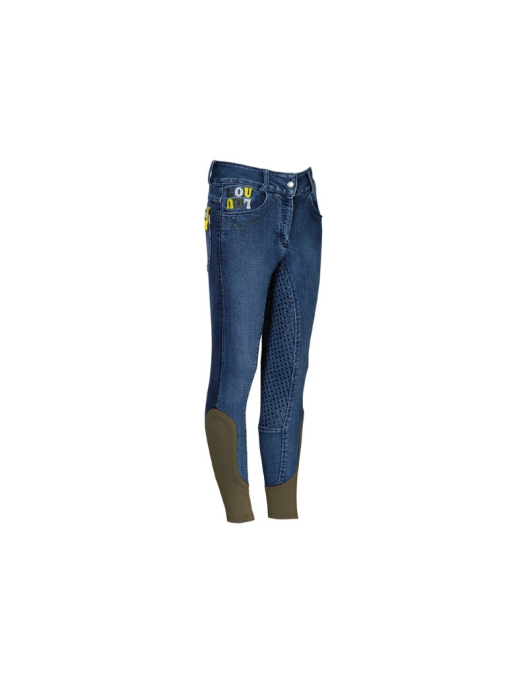 Harrys Horse Kinderreithose LouLou Full Grip Jeans blue nights