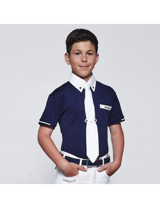 Harcour Jungen Turniershirt Crystallo S19 navy