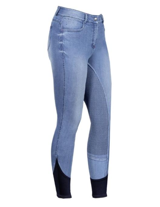 USG Kinder Jeansreithose Kimberly mit Top Grip Vollbesatz
