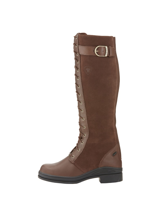 Ariat Womens Coniston Waterproof Insulated Boot chocolate/brown
