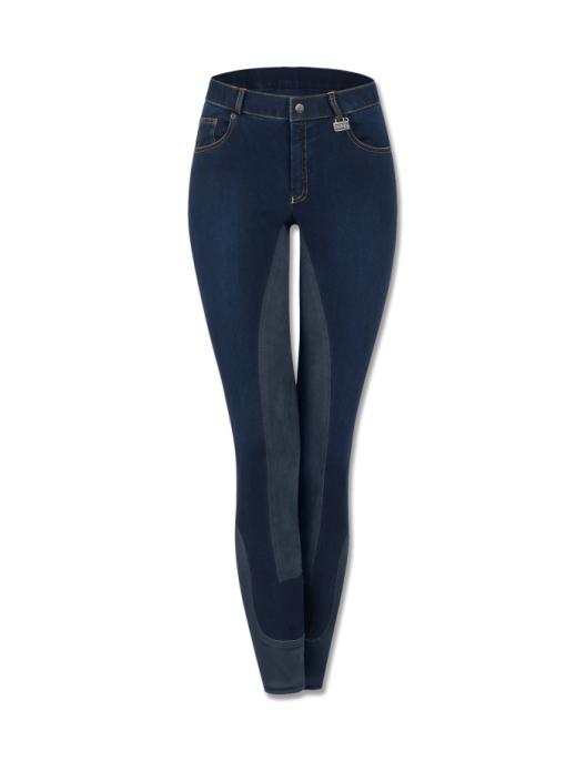 Waldhausen Kinder Jeansreithose Cara jeansblau