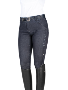 Equiline Damenreithose Denim Shape Half-Grip