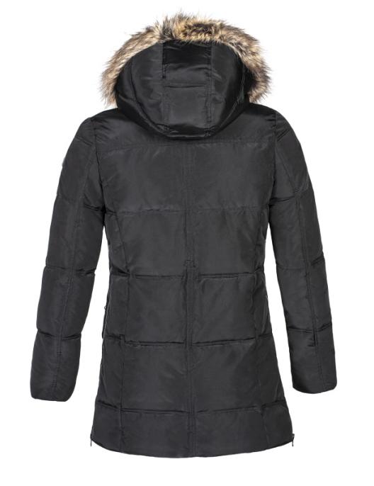 Equiline Damen Winterjacke Zinnia Extra schwarz