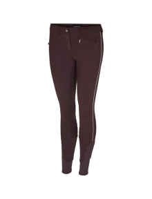 Equipage Breeches Winter Hero Full-Grip dark port