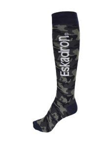 Eskadron KNEE SOCKS navy camouflage