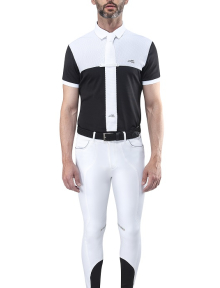 Equiline MEN?S COMPETITION POLO SHIRT CALEB