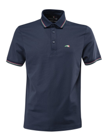 Equiline Men´s Free Time Polo Shirt  blue
