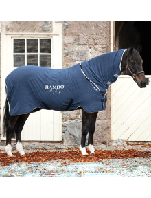 Horseware Rambo Abschwitzdecke Dry Rug navy/silver