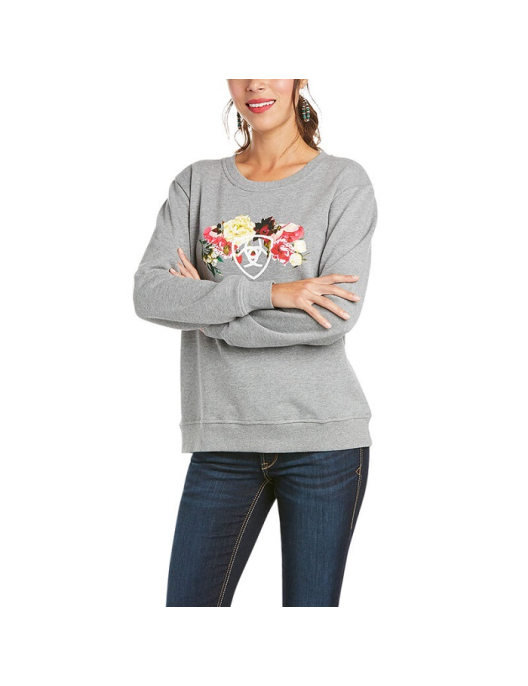 Ariat WMS Real Carnation Sweatshirt