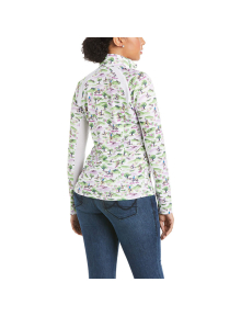 Ariat Damen Sunstopper 2.0 1/4 Zip Baselayer